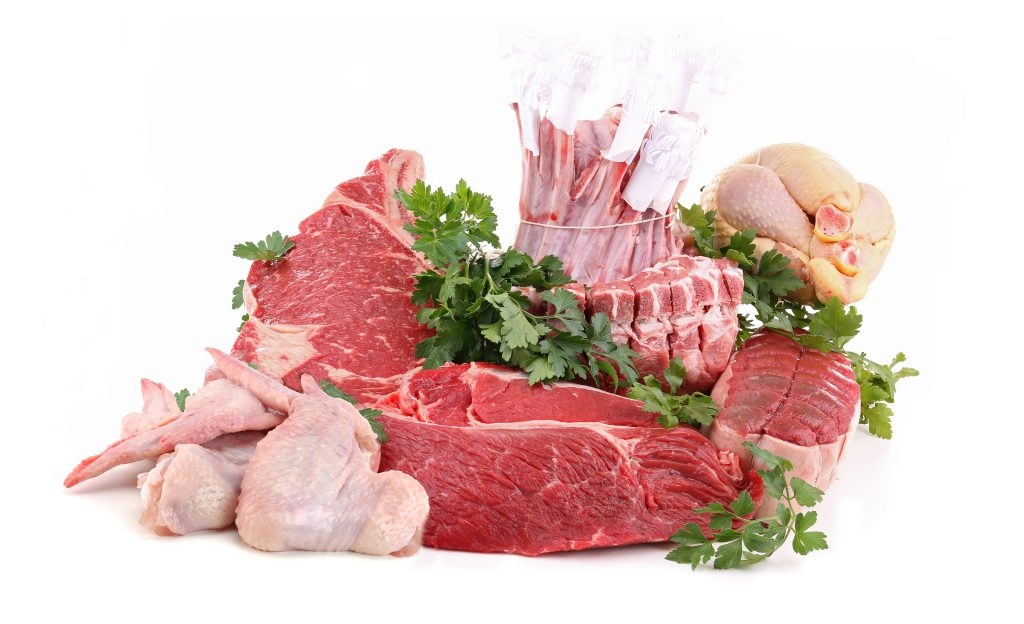 wide range meat products